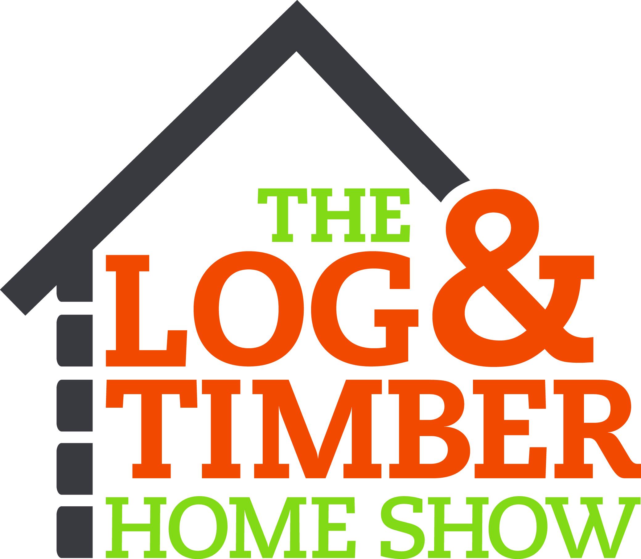 Log & Timber Home Show logo.