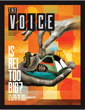 The Voice Volume 1 Cover for Snowshow