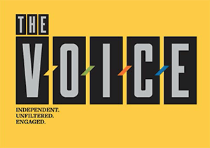 The Voice Logo Yellow