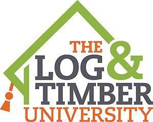 The Log & Timber University logo