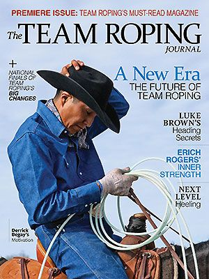 The Team Roping Journal Inaugural Cover