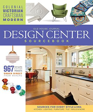 Old House Journal's Design Center Sourcebook Cover