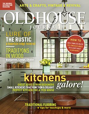 Old House Journal Magazine Cover 2018