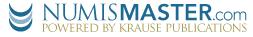 NUMISMASTER.com logo.