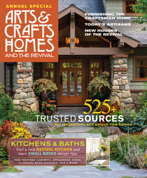 Arts & Crafts Homes magazine cover.