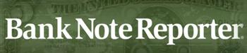 Bank Note Reporter logo.