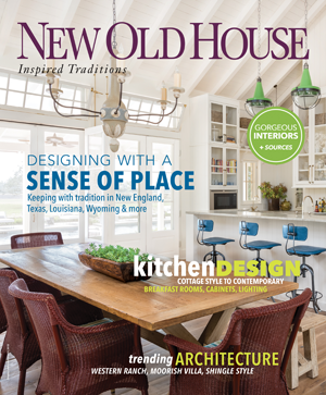 New Old House magazine cover.