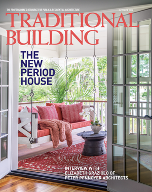 Traditional Building magazine cover.